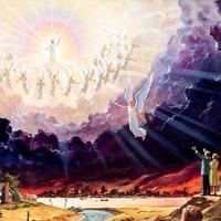 تأمل حدوتة السما - رؤيا 4 مترنمة - الخبر السار