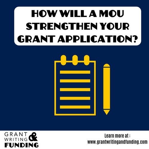 062: How will a MOU strengthen your grant application?