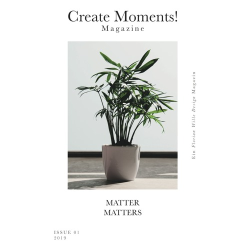 Create Moments! Magazine (Issue 01 Soundtrack)