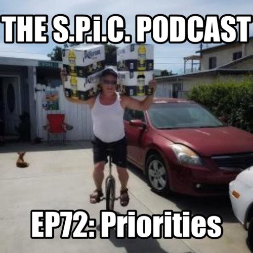 The S.P.i.C. Podcast EP72: PRiORiTiES