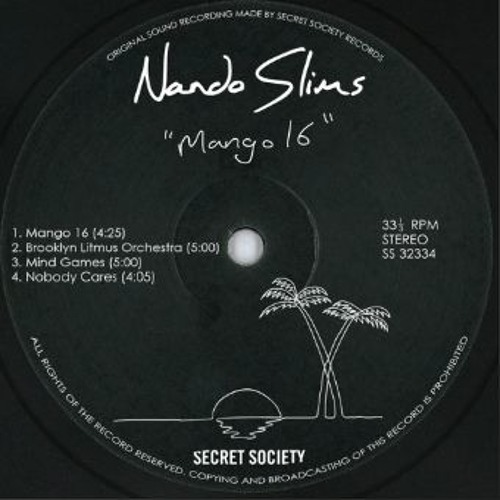 FOUR FOUR PREMIERE: Nando Slims - Nobody Cares [Secret Society]