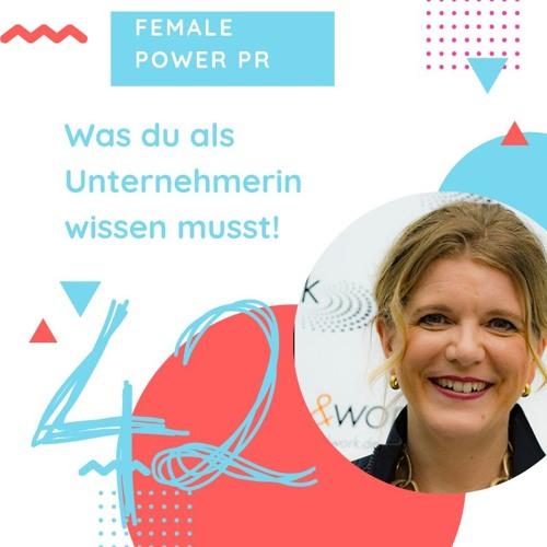 #42 Intuition als Business-Stärke mit Melanie Vogel I Female Power PR