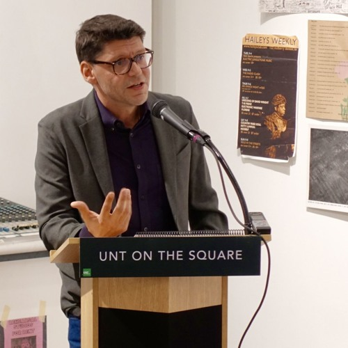 2019 UNT Rilke Prize Q&A - David Keplinger (partial recording)