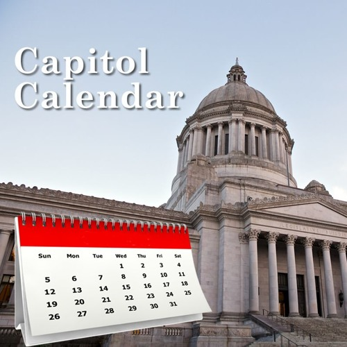 04-08-19 - Capitol Calendar (for April 8 - 12)