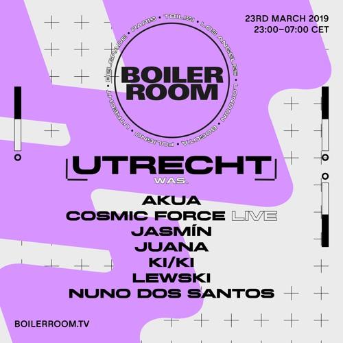 KI/KI | Boiler Room Utrecht: WAS