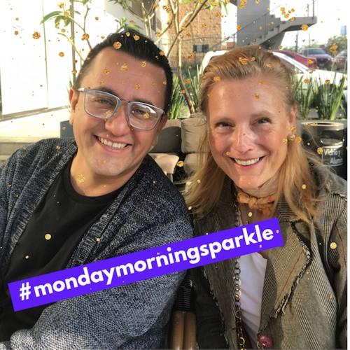 #MondayMorningSparkle    8 Abril 2019