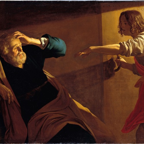 Gerard van Honthorst »Die Befreiung Petri, ca. 1618« – Komposition von Ruoxing Gao