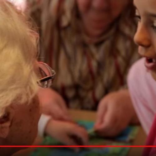 Seniors - Infants - Together - Non - Family - Blessing - C