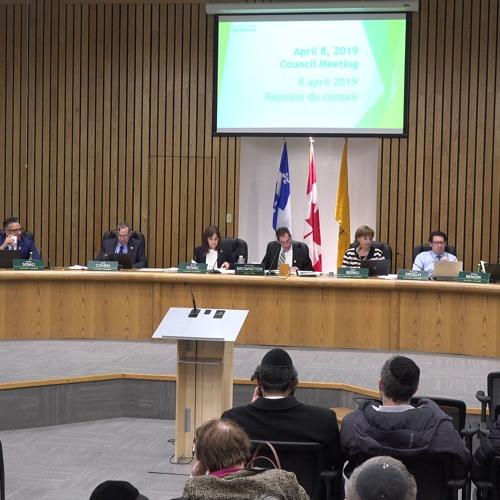 Council Meeting - April 8, 2019 // Côte Saint-Luc