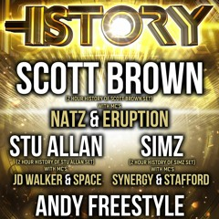 Andy Freestyle MC Eruption (Warm Up Set) HISTORY Doncaster Warehouse Boxing Day 18