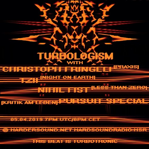 Christoph Fringeli - Turbologism Part 3 On HardSoundRadio-HSR