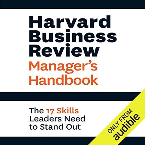 Harvard Business Review Manager's Handbook By Harvard Business