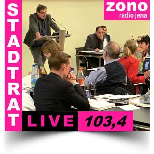 Hörfunkliveübertragung (Teil 1) der 54. Sitzung des Stadtrates der Stadt Jena am 10.04.2019
