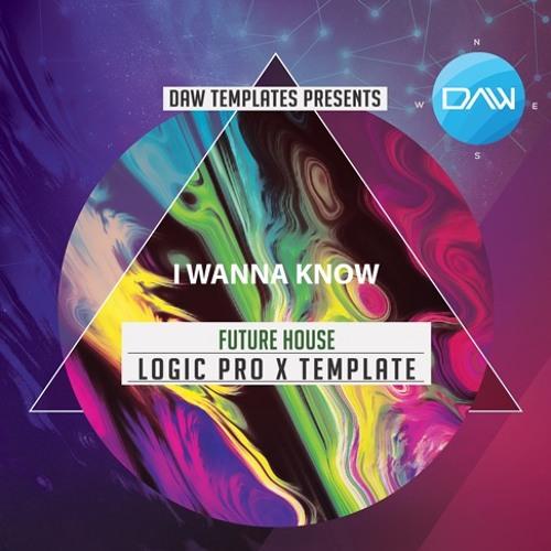 I wanna Know Logic Pro X Template