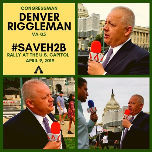Rep. Denver Riggleman (VA-05) #SAVEH2B Rally