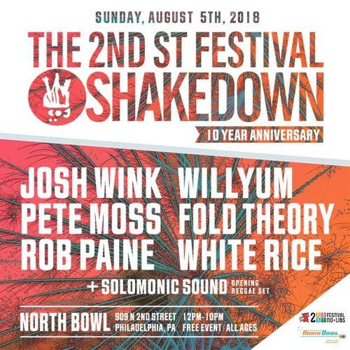 Josh Wink 'Live @ The 2nd St Festival Shakedown Pt 1' (Profound