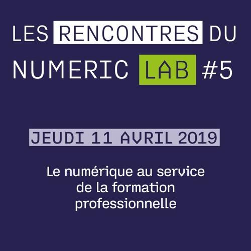 11 Avril 2019 : Le numérique au service de la formation professionnelle