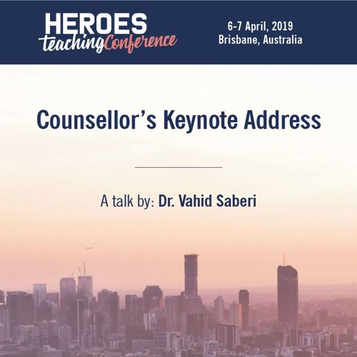 Counsellor's Keynote Address