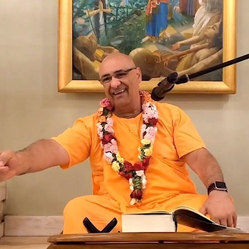 Śrīmad Bhāgavatam class on Thu 11th Apr 2019 by HH Ramai Swami 4.21.49