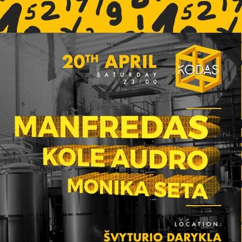 KOLE AUDRO - KODAS at ŠVYTURIO DARYKLA MIX 2019