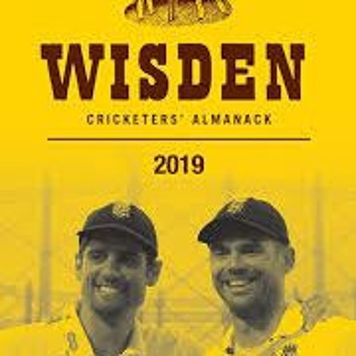 Lawrence Booth- Wisden 2019
