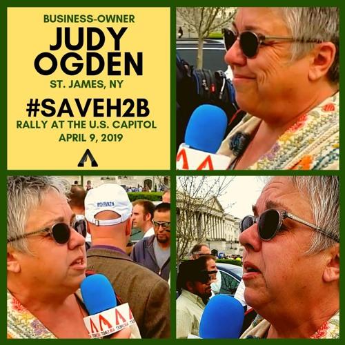 Judy Ogden (NY) #SAVEH2B Rally