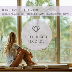 Geom - Dont Stop (Housenick Remix)