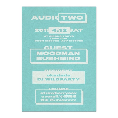 DJ WILDPARTY DJset In Audio Two2019.04.13