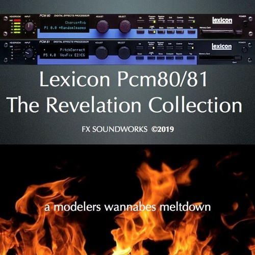 Lexicon PCM80/81 The Revelation Collection: Reel to Reel Tape Echo WorX