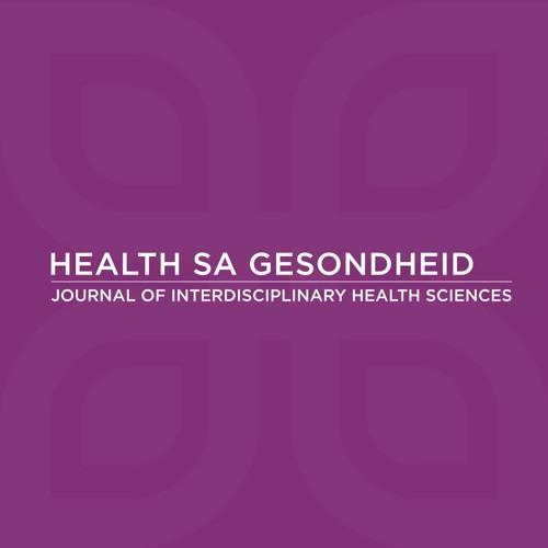 Journal of Interdisciplinary Health Sciences – Health SA Gesondheid