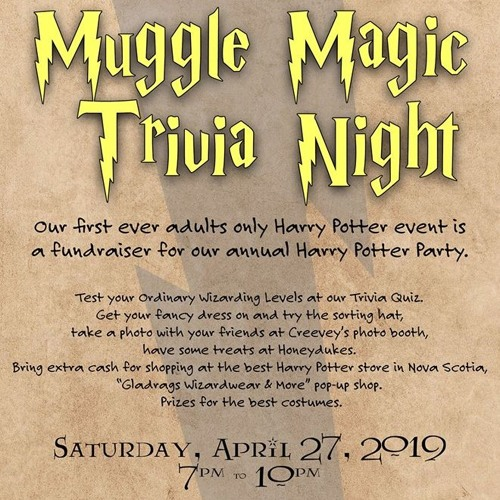 89.3 K-Rock gets the scoop on Muggle Magic Trivia Night for adults!