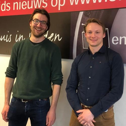 2019 - 04 - 15 GL-raadsleden Alex Friso En Rembrandt Rowaan Over Ouderenwoningen In Leiden