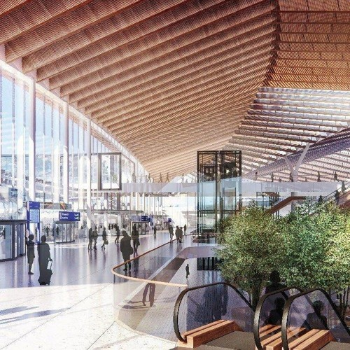 Escalators Figure Big In Gang-Designed O'Hare Terminal