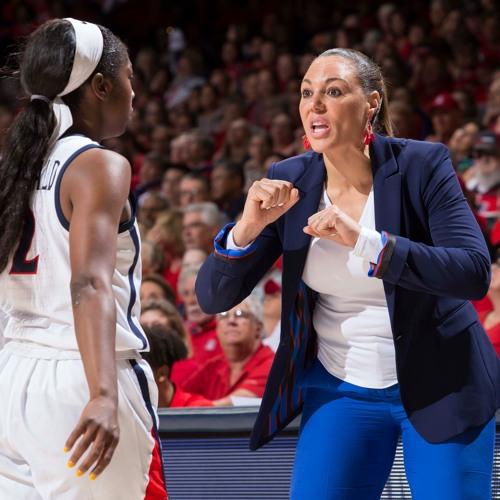 Adia Barnes, Head Coach, University of Arizona Women's Basketball
