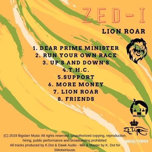 """Zed-I: """"LionRoar"""" (EP)"""
