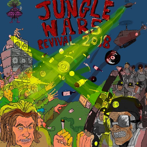 VA - Beatroot presents Jungle Wars Revival 2019 [LP]