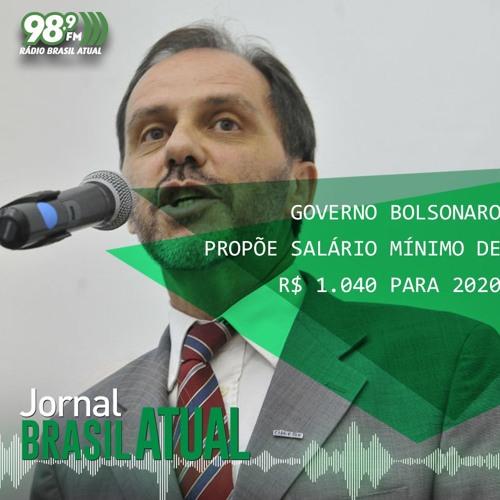 Governo Bolsonaro propõe salário mínimo de R$ 1.040 para 2020