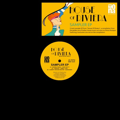 """House Of Riviera Sampler EP"" Anxious, Riviera Traxx, Subway Ground Master - MM004 (Snippets)"