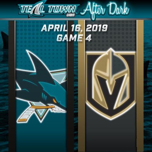 Teal Town After Dark (Postgame) - San Jose Sharks @ Vegas Golden Knights GAME 4 - 4-16-2019