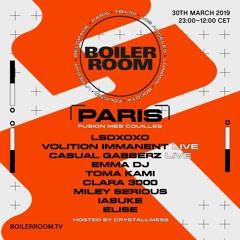 LSDXOXO   Boiler Room Paris: Fusion mes Couilles