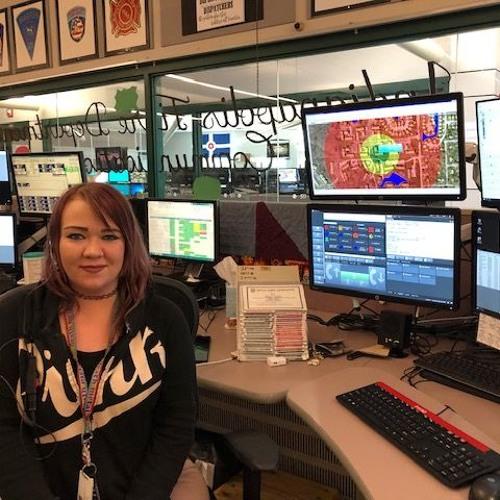 DARIAN HORNADAY INTERVIEW 911 DISPATCHER