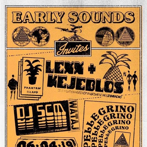 Kejeblos & Lexx - Early Sounds Recordings party @ Sameheads 060419