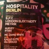 On the decks at Club Gretchen Berlin