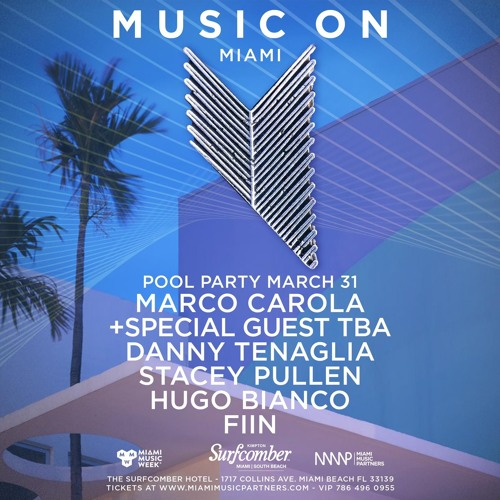 Fiin @ Marco Carola Music On WMC Pool Party 2019