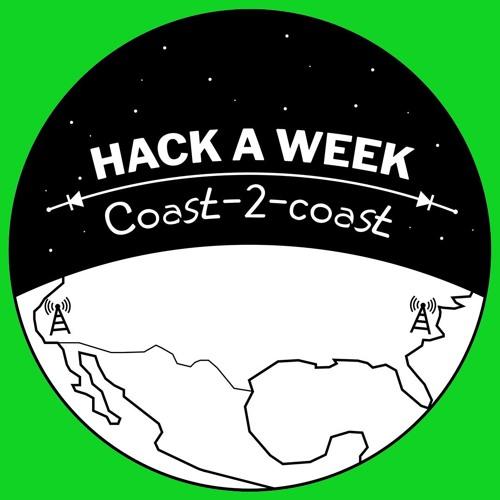 Hackaweek Coast2Coast Episode 1 - Disembodied Eye, Smoking Car, & Maker Faire