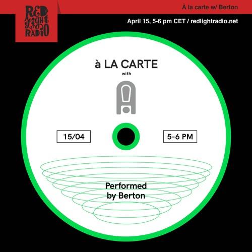 À la carte 04 w/ Acid Test @ Red Light Radio 15.04.19