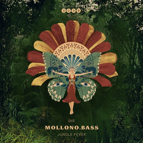 """NOW: Mollono.Bass """"Jungle Fever EP"""" 3000Grad068 - OUT ON 03/05/19"""