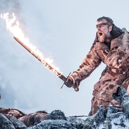 Beric Dondarrion's Flaming Sword