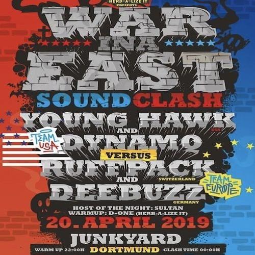 Young Hawk & Dynamq vs Ruffpack & Deebuzz 04/19 GER (War Ina East)