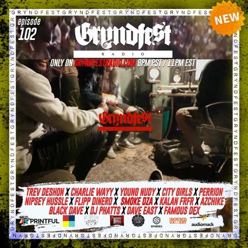 [4/22] #GryndfestRadio episode 102 @Trevdeshon & @Charliewayy_ Interview by: @dinner_Land @audiomack